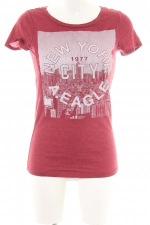 American Eagle Outfitters T-shirt rood prints met een thema casual uitstraling
