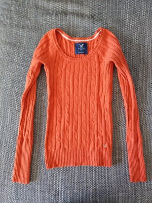 American Eagle Outfitters Pull en laine orange