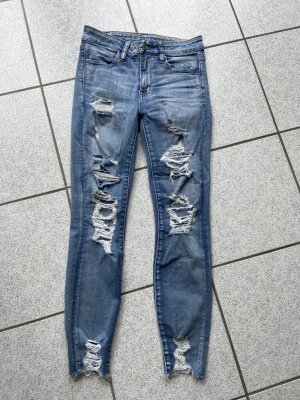 American Eagle Outfitters Jeans skinny bleu