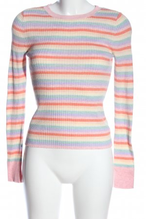 american eagle Crewneck Sweater striped pattern casual look