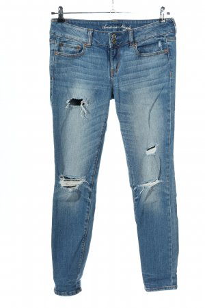 american eagle Skinny jeans blauw casual uitstraling