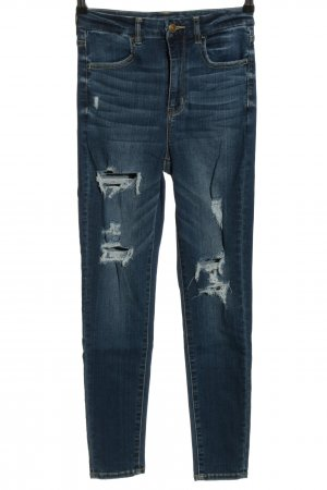 american eagle Stretch jeans blauw casual uitstraling