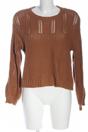 american eagle Knitted Sweater brown casual look