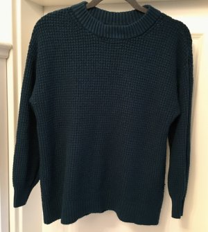 American Eagle Sweater Pullover Strickpullover Strick Petrol Gr M USA