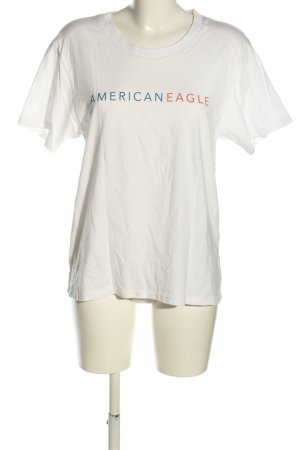 american eagle T-shirt gedrukte letters casual uitstraling