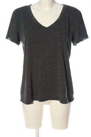 american eagle T-shirt gris clair moucheté style décontracté