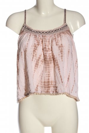 american eagle Strappy Top pink abstract pattern casual look