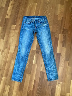 American Eagle Outfitters Jeans stretch bleu acier