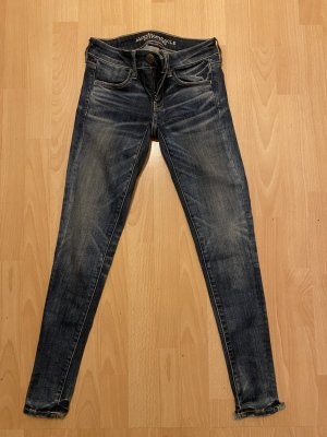 American Eagle Outfitters Wortel jeans blauw-staalblauw
