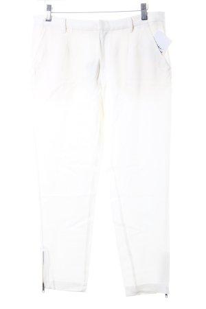 American Retro Pantalón tipo suéter crema estilo clásico