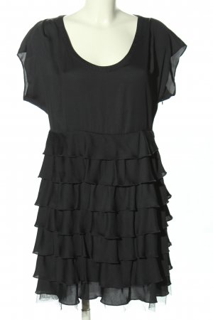 American Retro Volante jurk zwart elegant