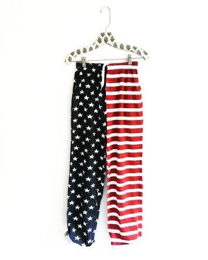 american sweat pants / vintage / stars & stripes / blau rot weiss