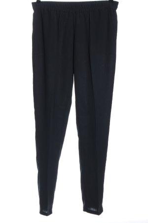 American Vintage Spodnie 7/8 czarny W stylu casual
