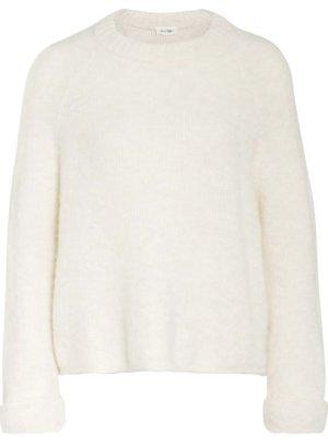 American Vintage Pull tricoté blanc cassé-blanc