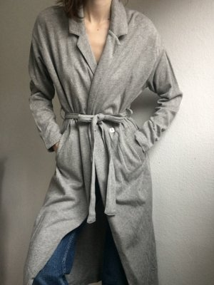 American Vintage Bathrobe light grey