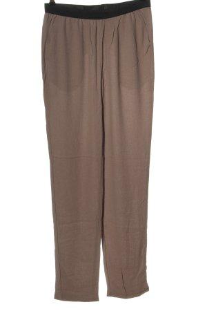 American Vintage Baggy broek bruin casual uitstraling
