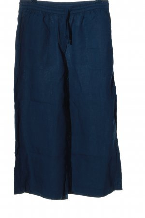 American Vintage Pantalón abombado azul moteado look casual
