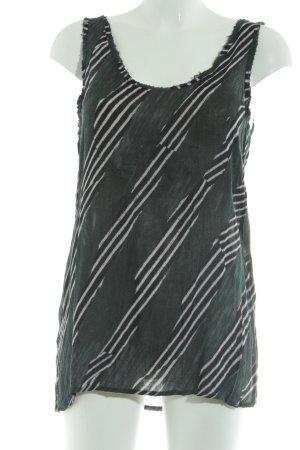 American Vintage Basic topje Patroon-mengeling casual uitstraling