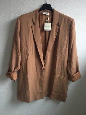 American Vintage Lange blazer veelkleurig