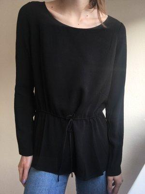 American Vintage Blouse met lange mouwen zwart