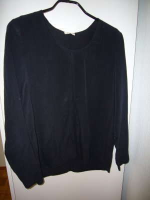 American Vintage Blusen Shirt Seide Gr. L carbone