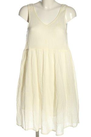 American Vintage Blusenkleid creme Casual-Look