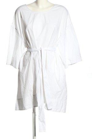 American Vintage Robe chemisier blanc style décontracté