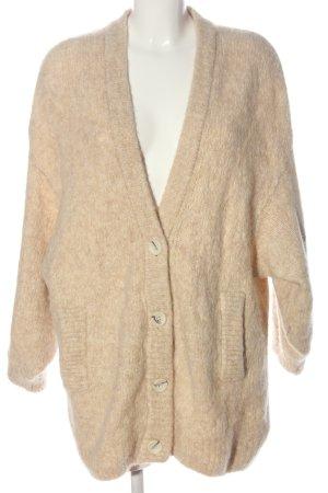 American Vintage Cardigan nude meliert Casual-Look