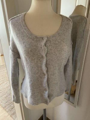 American Vintage Knitted Cardigan light grey