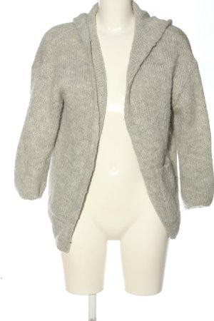 American Vintage Cardigan light grey flecked casual look