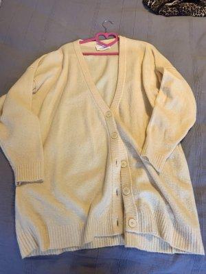 American Vintage Pull long jaune clair
