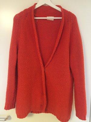 American Vintage Cardigan tricotés orange foncé