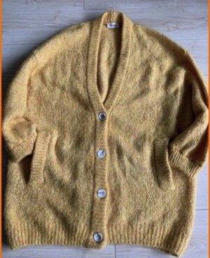 American Vintage Cardigan Zapitown, gelb, M/L- neu!
