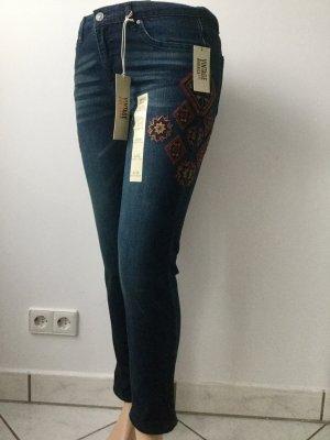 AMERICAN VINTAGE Damen Boyfriend Jeans mit Stickerei Gr.28/M (D38)