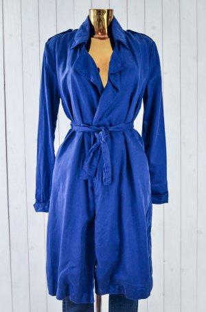 American Vintage Trenchcoat blauw