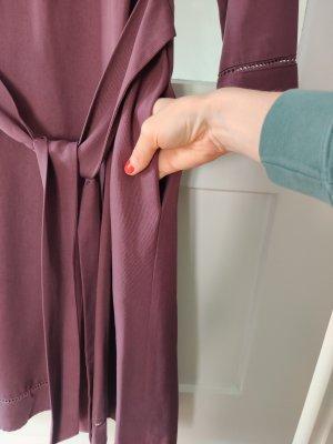 American Vintage Robe mi-longue bordeau