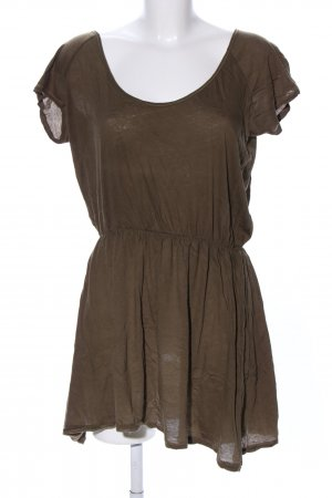 American Vintage Top de corte imperio color bronce look casual
