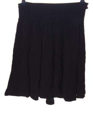 American Vintage Rozkloszowana spódnica czarny W stylu biznesowym