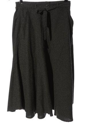 American Vintage Rozkloszowana spódnica jasnoszary Melanżowy W stylu casual