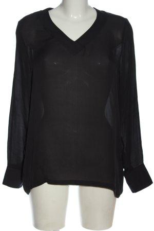 American Vintage Hemdblouse zwart elegant
