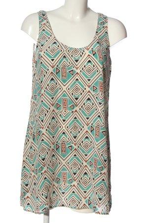 American Vintage Hemd-Bluse Allover-Druck Casual-Look