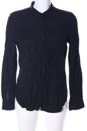 American Vintage Hemdblouse zwart casual uitstraling