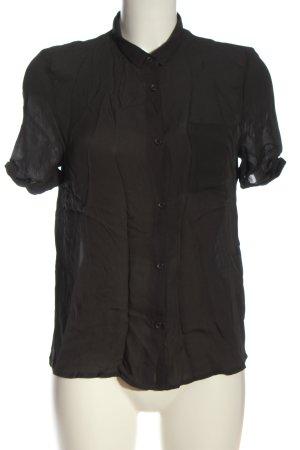 American Vintage Blouse-chemisier noir style d'affaires