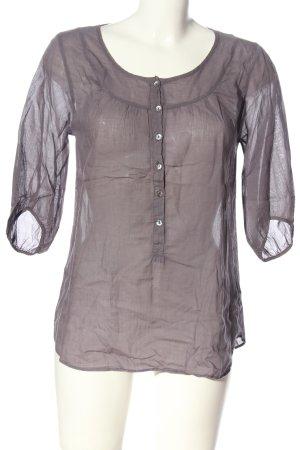 American Vintage Camicia blusa lilla stile casual