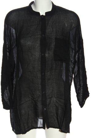 American Vintage Shirt Blouse black casual look