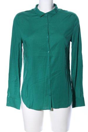 American Vintage Hemdblouse groen casual uitstraling