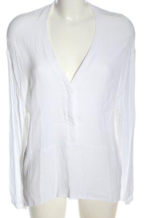 American Vintage Koszulowa bluzka biały W stylu casual