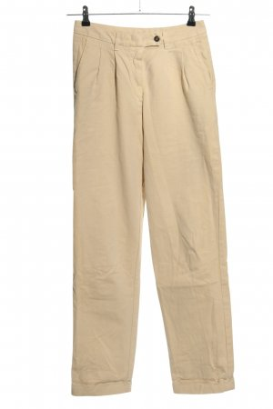 American Vintage Jeans a vita alta crema stile casual