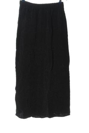 American Vintage Jupe taille haute noir style décontracté