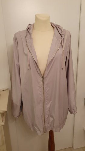 American Vintage Chaqueta con capucha gris Poliéster